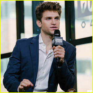 Keegan Allen Talks Up His New Photography Book 'Hollywood' in New York City