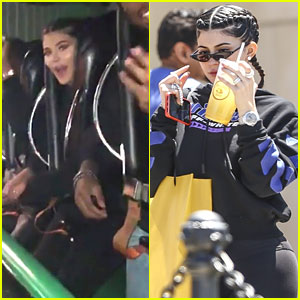 Kylie Jenner Took Travis Scott to Six Flags For His First Time