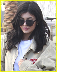 Kylie Jenner & Daughter Stormi Matched While Out For A Stroll