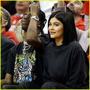 Kylie Jenner & Travis Scott Enjoy a Night Out in Houston