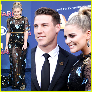 Lauren Alaina & Boyfriend Alex Hopkins Couple Up at ACM Awards 2018!