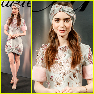 Lily Collins Actually Choked On A Tomato During Her Recent Visit to Tokyo!