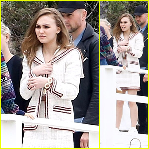 Lily-Rose Depp Poses for a Photo Shoot After Splitting With BF Ash Stymest