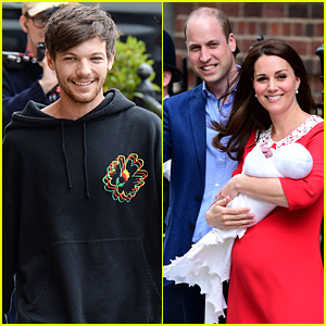 Louis Tomlinson Responds To New Royal Baby's Name Being Louis
