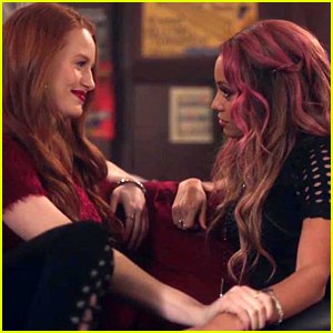 Madelaine Petsch on Riverdale's Choni Kiss: 'I'm So Happy About It'