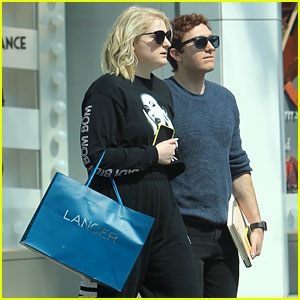 Meghan Trainor & Daryl Sabara Hold Hands for Rodeo Drive Shopping Trip