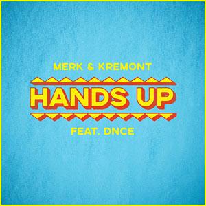 DNCE Joins Merk & Kremont on Catchy New Song 'Hands Up' - Listen Here!