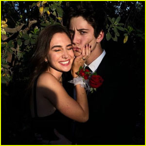 Milo Manheim Couples Up With Girlfriend Holiday Kriegel at Prom!