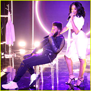 Normani Joins Khalid For 'Love Lies' Performance on 'Tonight Show' - Watch Now!