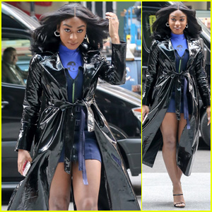 Normani Looks Gorgeous & Chic While Heading Out in NYC!