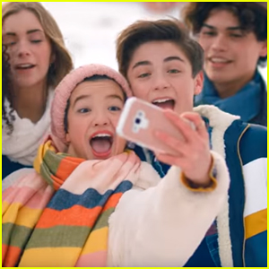 Asher Angel Has Snowball Fight With Peyton Elizabeth Lee in 'Getaway' Music Video