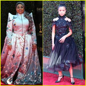 Raven Symone & Navia Robinson Unite at Daytime Emmys 2018