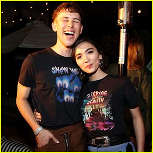 Rowan Blanchard & Tommy Dorfman Party It Up at Pre-Coachella Bash