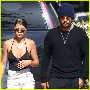 Sofia Richie & Scott Disick Grab Lunch Ahead of Romantic Night