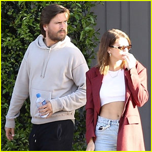 Sofia Richie & Scott Disick Couple Up for a Beach Day