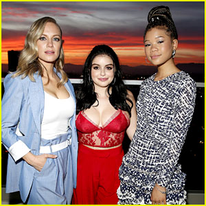 Danielle Savre & Ariel Winter Join Storm Reid to Celebrate Her 'LaPalme' Spring 2018 Solo Cover!