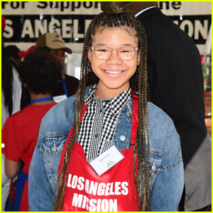Storm Reid Celebrates Easter By Helping the Less Fortunate!