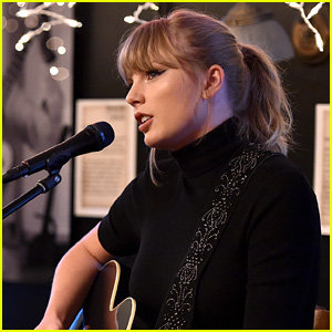 Taylor Swift Gets Standing Ovation During Surprise Appearance at the Bluebird Cafe!