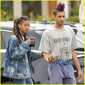 Willow Smith & Tyler Cole Enjoy a Sunday Funday Outing Together