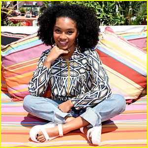 Yara Shahidi Shows Off Her Must-Have Spring Festival Styles