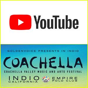 YouTube To Live Stream Weekend 1 of Coachella 2018!