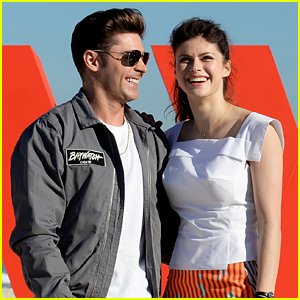 Zac Efron Comments on Alexandra Daddario's Instagram, Adding More Speculation About Their Relationship