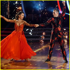 Adam Rippon & Jenna Johnson Bring Us A High Stepping Quickstep For 'DWTS Athletes' Week 2 (Video)