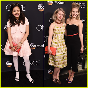 Alison Fernandez & Tiera Skovbye Celebrate 'Once Upon a Time' Series Finale