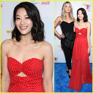 Arden Cho & Meghan Rienks Premiere 'The Honor List' at Bentonville Film Festival 2018
