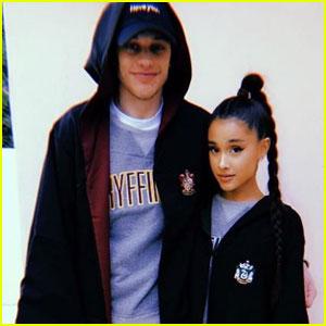 Ariana Grande & Pete Davidson Make Relationship Instagram Official!