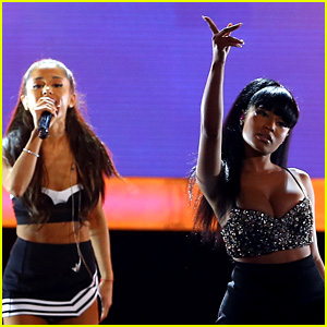 Ariana Grande Teases New Collaboration With Nicki Minaj - Listen to a Snippet!
