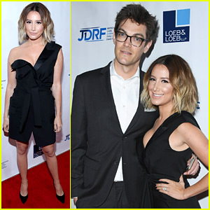 Ashley Tisdale & Husband Christopher French Couple Up For JDRF's Imagine Gala