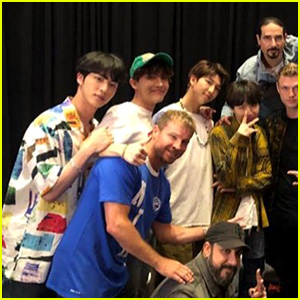 BTS Meet the Backstreet Boys at Billboard Awards 2018 - See the Group Pic!