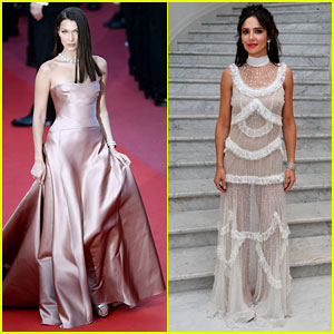 Bella Hadid & Cheryl Cole Dazzle at 'Ash Is Purest White' Screening in Cannes