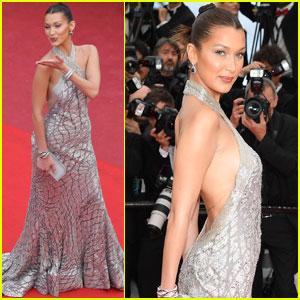 Bella Hadid Met Her Supermodel Twin at Cannes!