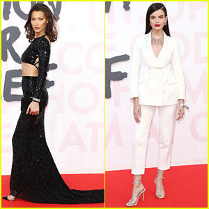 Bella Hadid & Sonia Ben Ammar Are Fashion For Relief Beauties