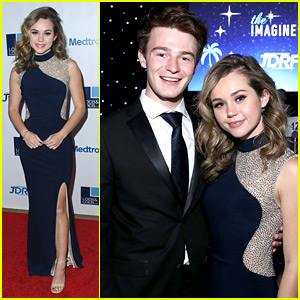 Brec Bassinger & Dylan Summerall Make It A Date Night at JDRF's Imagine Gala 2018