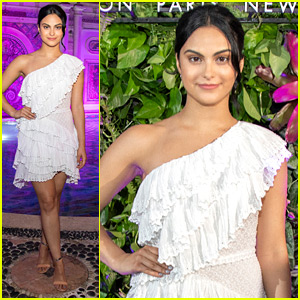 Camila Mendes Celebrates John Frieda Ambassadorship With Chic Party in Miami