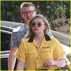 Chloe Moretz Is a Ray of Sunshine on Lunch Date