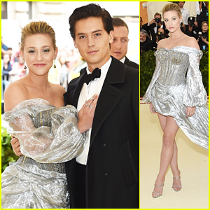 Cole Sprouse & Lili Reinhart Make Red Carpet Debut As A Couple at Met Gala 2018