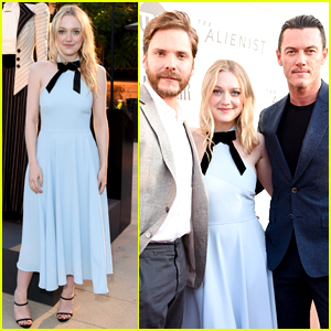 Dakota Fanning Joins 'The Alienist' Co-Stars at Emmy Event!