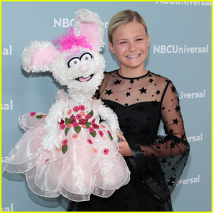 Darci Lynne Farmer Brings Petunia To NBC Upfronts 2018