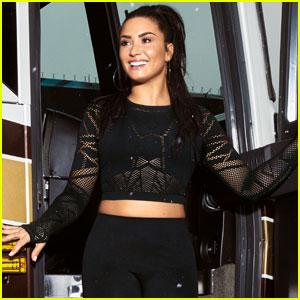 Demi Lovato Announces New 'Fabletics' Capsule Collection!