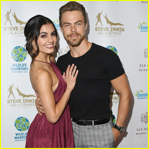 Derek Hough Says Girlfriend Hayley Erbert 'Always Looks Beautiful'