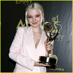 Dove Cameron Gets Standing Ovation From 'Descendants 3' Family After Winning An Emmy