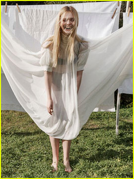 Elle Fanning Reveals the Unusual Way She Prepped for 'How to Talk to Girls at Parties!'