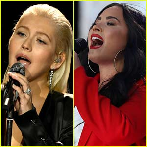 Demi Lovato Lends Vocals to Christina Aguilera's 'Fall In Line' - Listen Now!
