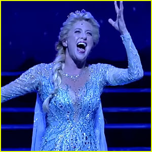 The 'Let It Go' Costume Change in Broadway's 'Frozen' Is So Cool - Watch Now!