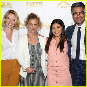 Gina Rodriguez Joins Her 'Jane the Virgin' Co-Stars at Empowered Women's Brunch!