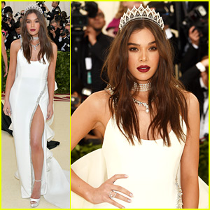 Hailee Steinfeld Sticks to the Catholicism Theme at Met Gala 2018